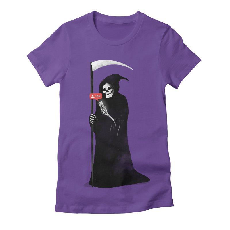 Death's Followers Everyday Women's Fitted T-Shirt by nicebleed