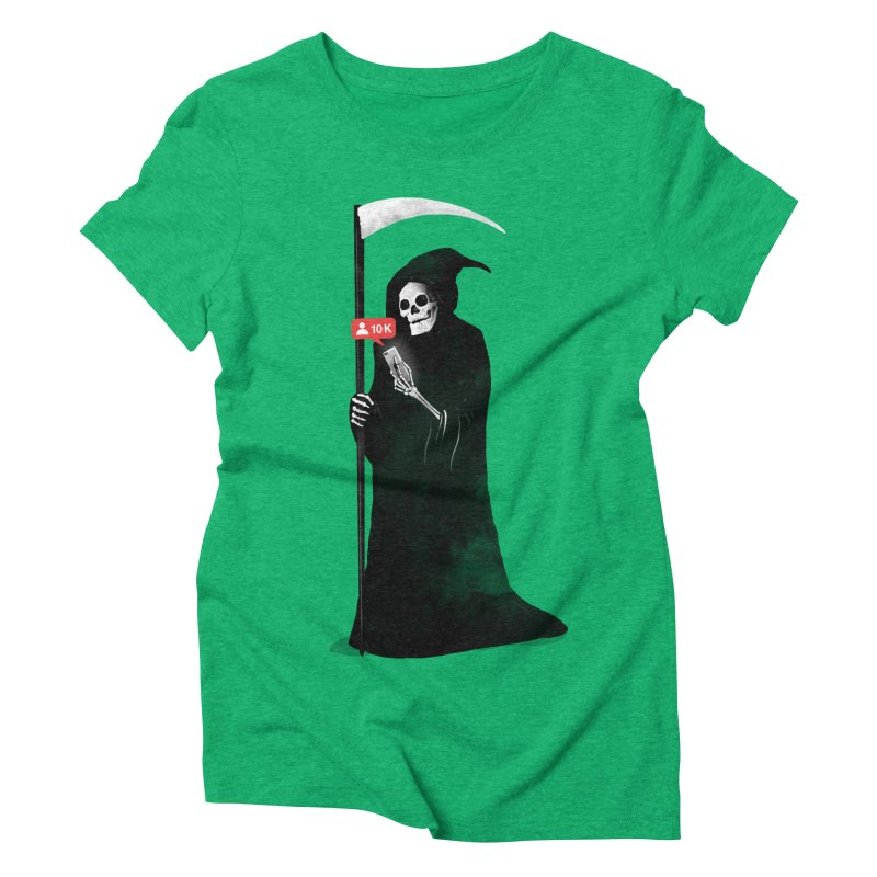 Death's Followers Everyday Women's Triblend T-Shirt by nicebleed