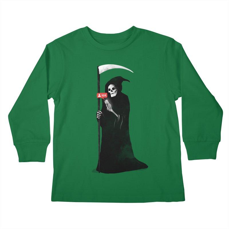 Death's Followers Everyday Kids Longsleeve T-Shirt by nicebleed