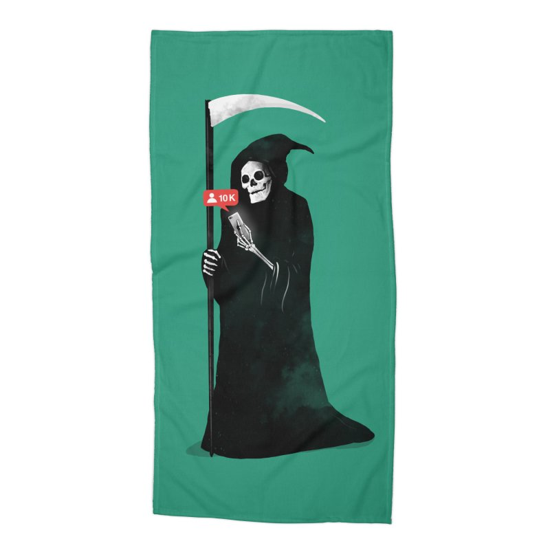 Death's Followers Everyday Accessories Beach Towel by nicebleed