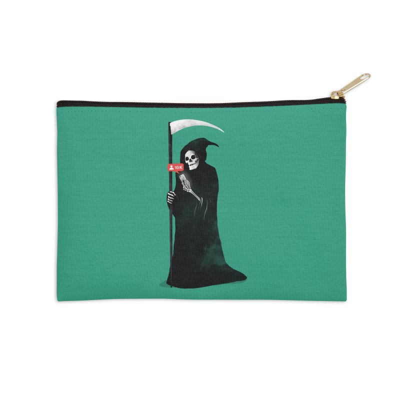 Death's Followers Everyday Accessories Zip Pouch by nicebleed