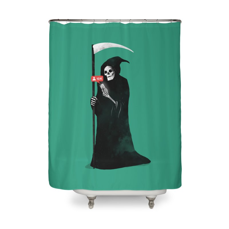 Death's Followers Everyday Home Shower Curtain by nicebleed