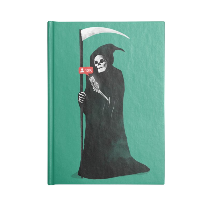 Death's Followers Everyday Accessories Notebook by nicebleed
