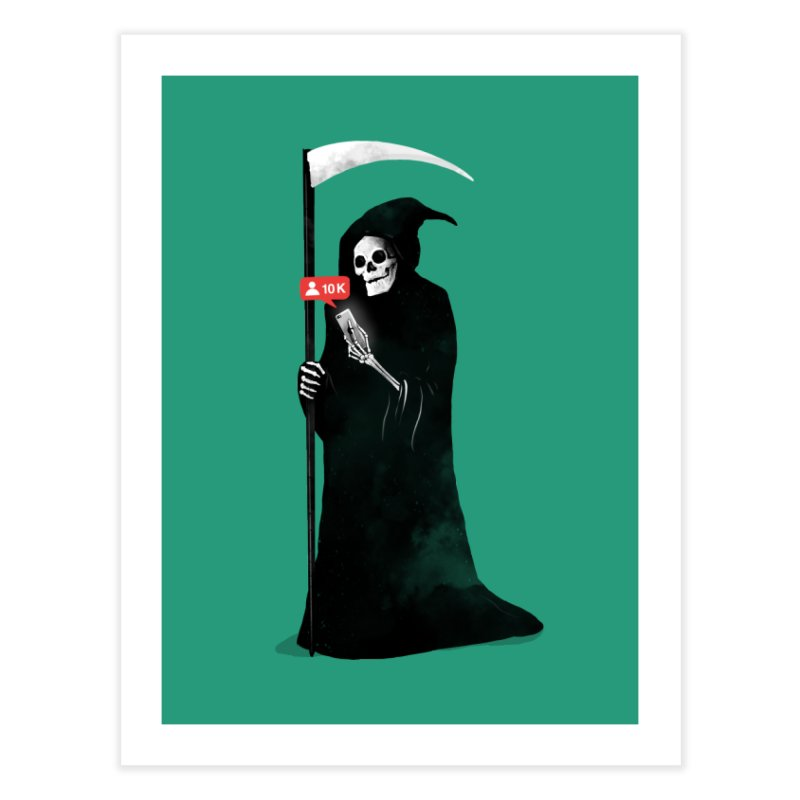Death's Followers Everyday Home Fine Art Print by nicebleed