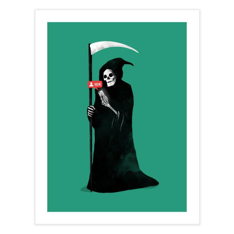 Death's Followers Everyday Home Fine Art Print by nicebleed