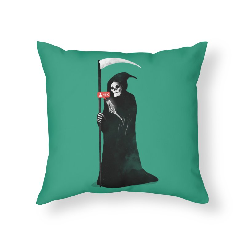 Death's Followers Everyday Home Throw Pillow by nicebleed