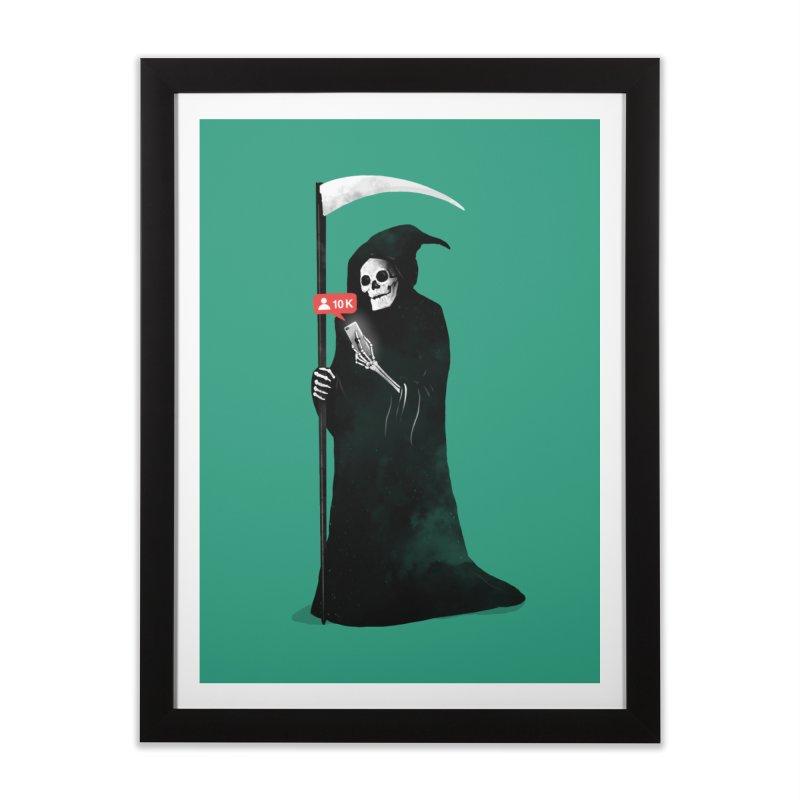 Death's Followers Everyday Home Framed Fine Art Print by nicebleed