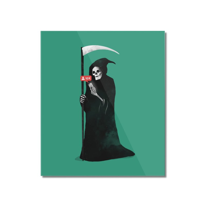 Death's Followers Everyday Home Mounted Acrylic Print by nicebleed