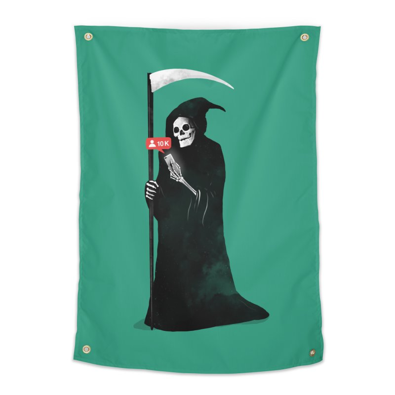 Death's Followers Everyday Home Tapestry by nicebleed