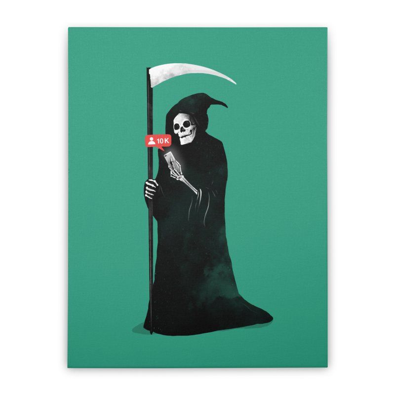 Death's Followers Everyday Home Stretched Canvas by nicebleed
