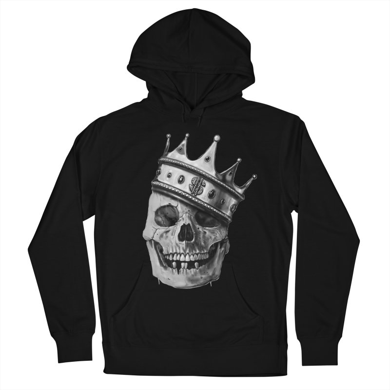 The Hustler Men's French Terry Pullover Hoody by nicebleed