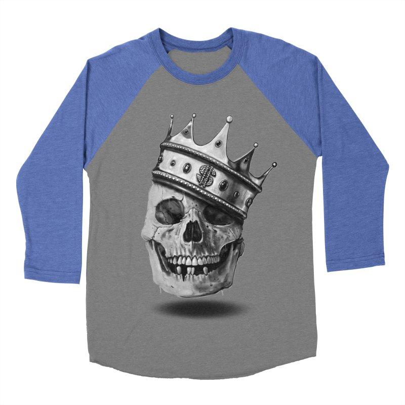 The Hustler Men's Baseball Triblend T-Shirt by nicebleed