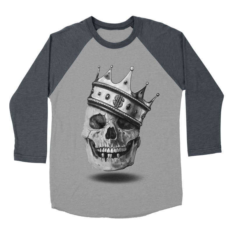 The Hustler Men's Baseball Triblend Longsleeve T-Shirt by nicebleed