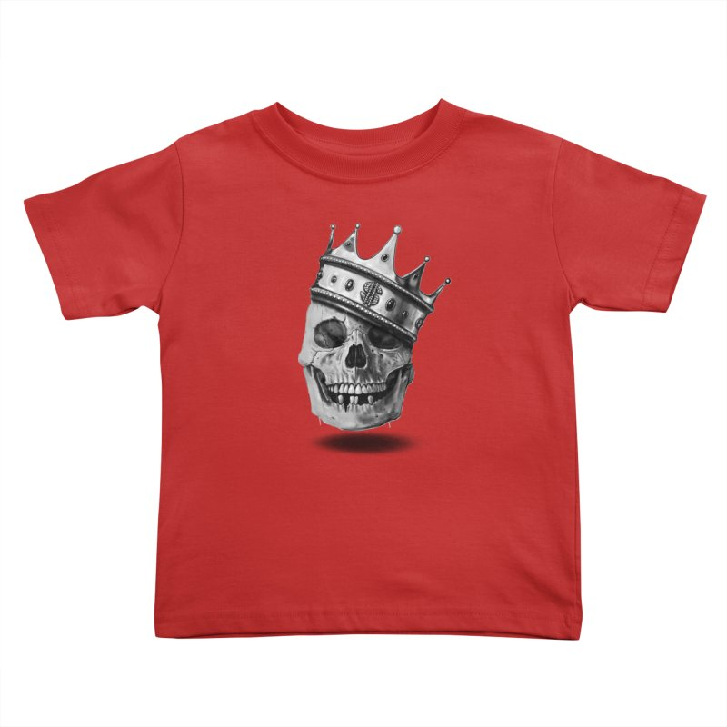 The Hustler Kids Toddler T-Shirt by nicebleed