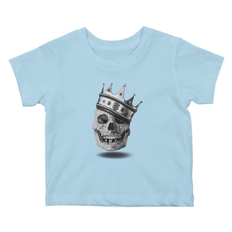 The Hustler Kids Baby T-Shirt by nicebleed