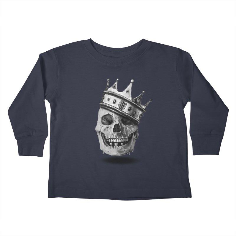 The Hustler Kids Toddler Longsleeve T-Shirt by nicebleed