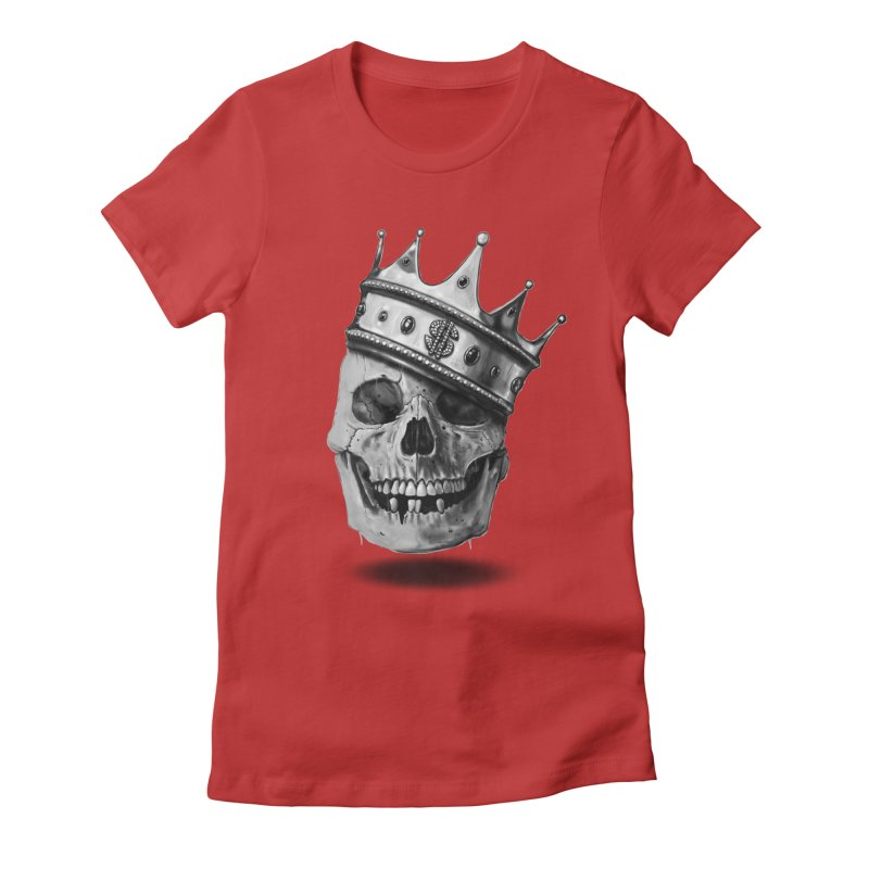 The Hustler Women's Fitted T-Shirt by nicebleed