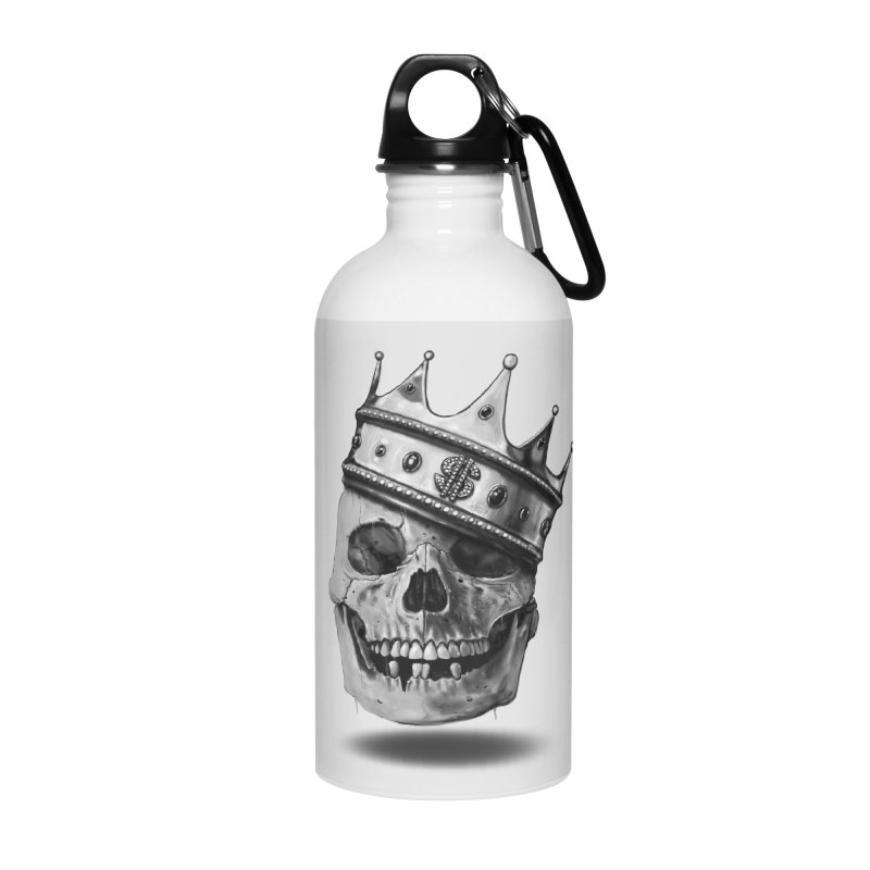 The Hustler Accessories Water Bottle by nicebleed