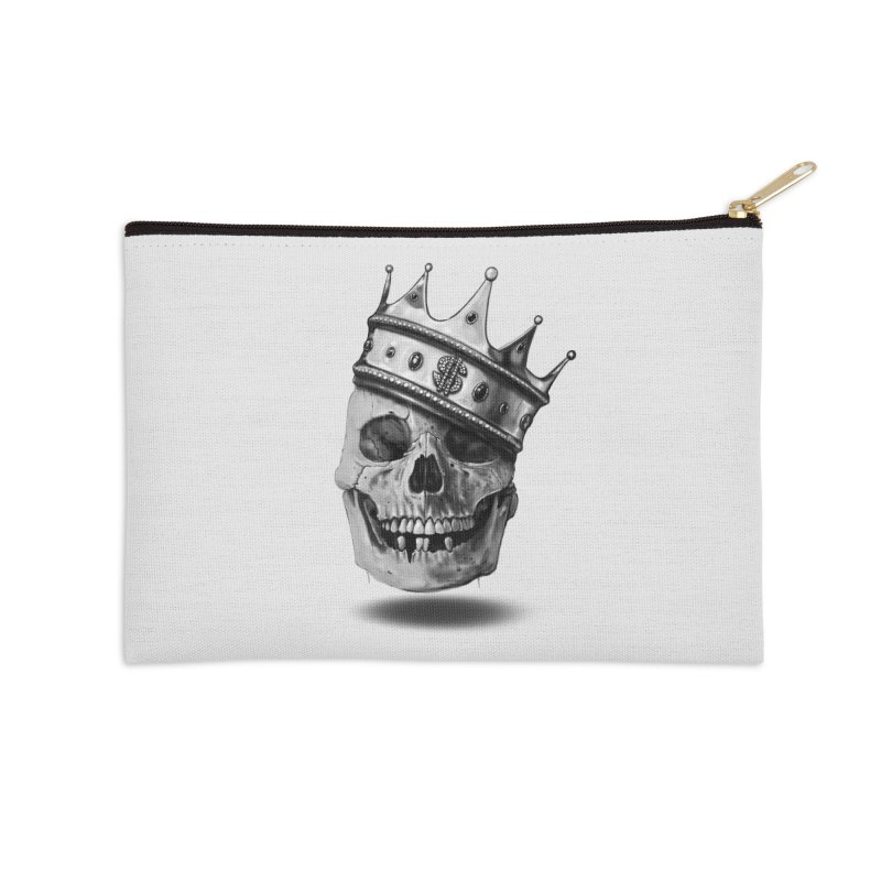 The Hustler Accessories Zip Pouch by nicebleed
