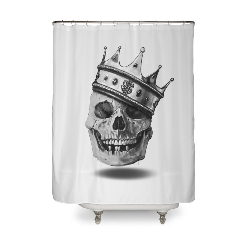 The Hustler Home Shower Curtain by nicebleed