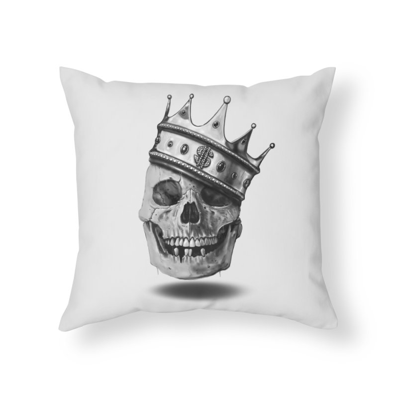The Hustler Home Throw Pillow by nicebleed