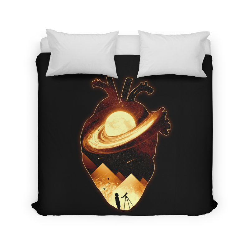 A Beat of Space Home Duvet by nicebleed