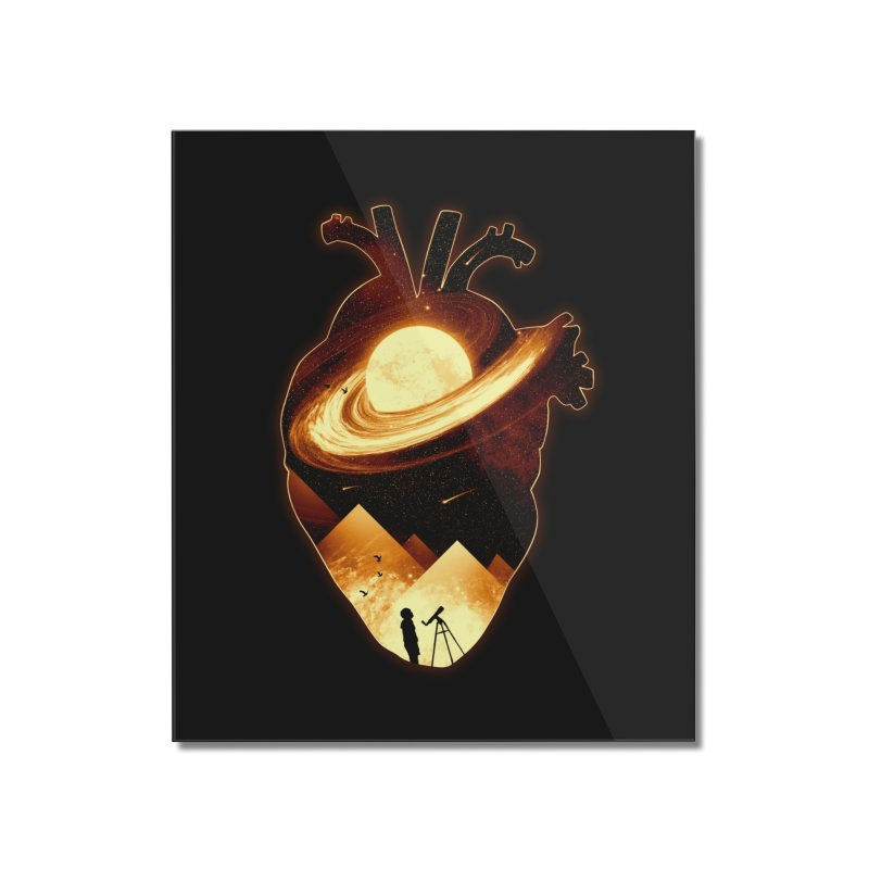 A Beat of Space Home Mounted Acrylic Print by nicebleed