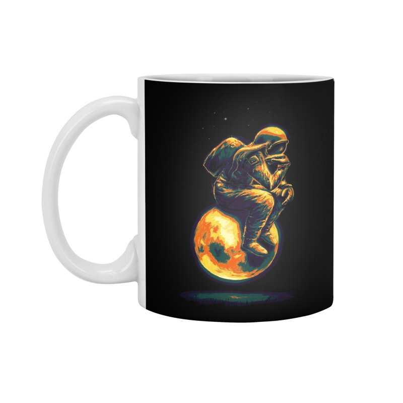Space Thinker Accessories Mug by nicebleed