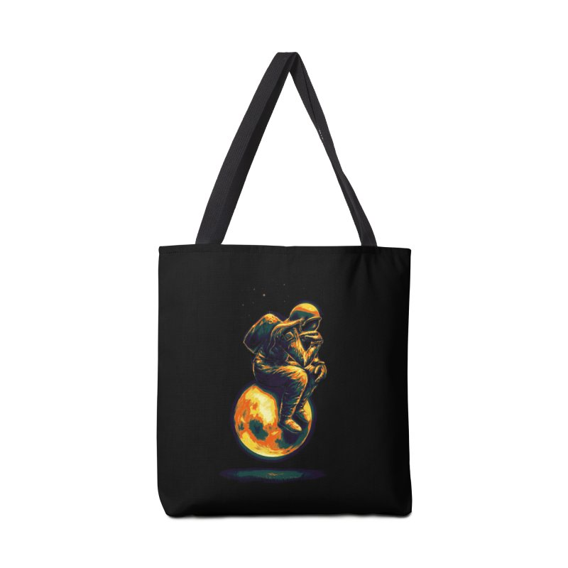 Space Thinker Accessories Bag by nicebleed
