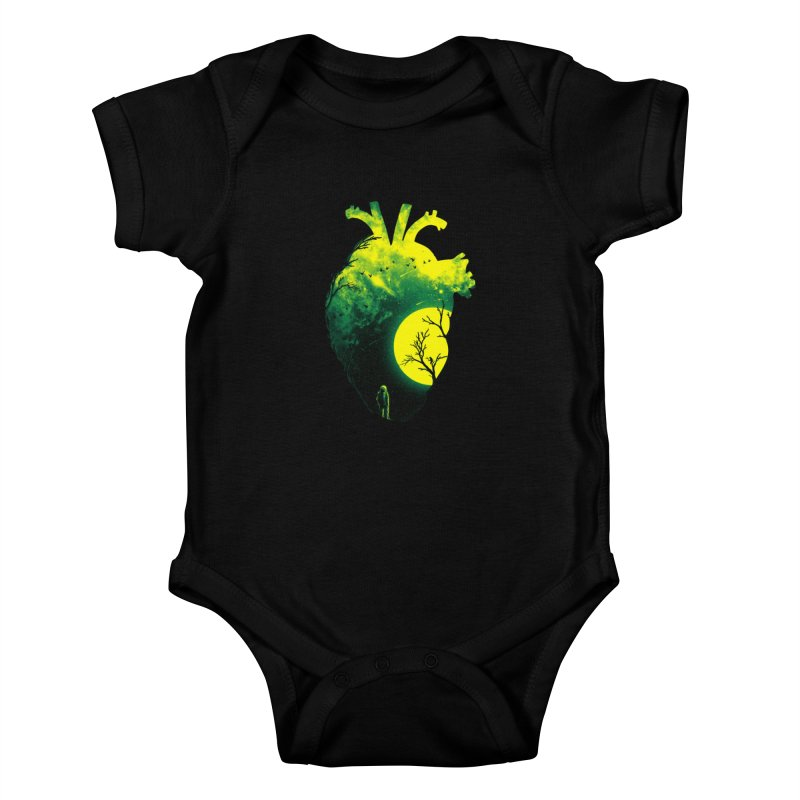 A Beat of Space 2 Kids Baby Bodysuit by nicebleed