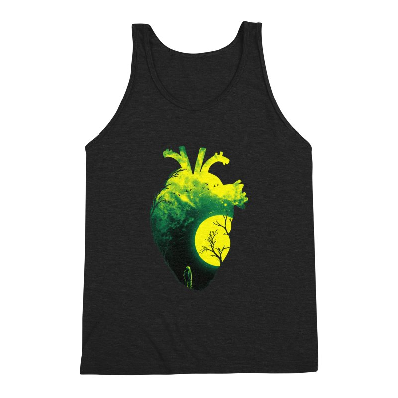 A Beat of Space 2 Men's Triblend Tank by nicebleed