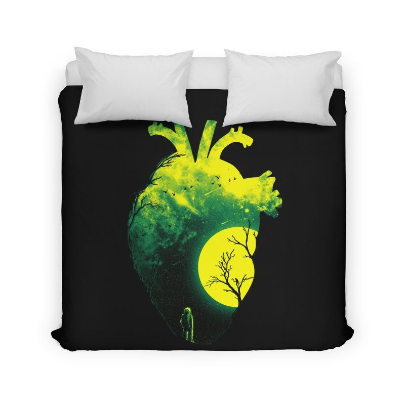A Beat of Space 2 Home Duvet by nicebleed