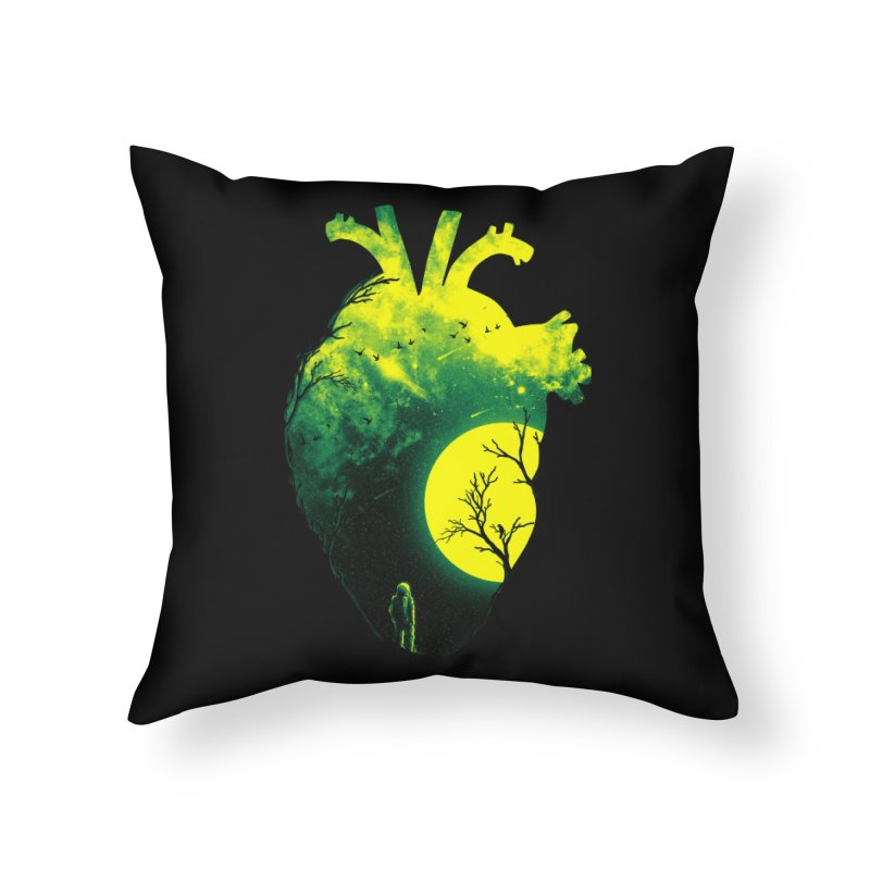 A Beat of Space 2 Home Throw Pillow by nicebleed