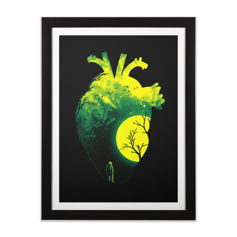 A Beat of Space 2 Home Framed Fine Art Print by nicebleed