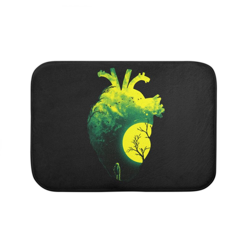 A Beat of Space 2 Home Bath Mat by nicebleed