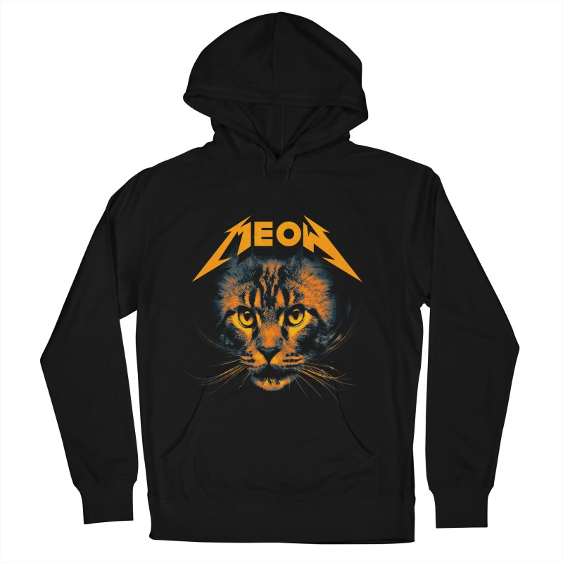 Meow Men's French Terry Pullover Hoody by nicebleed