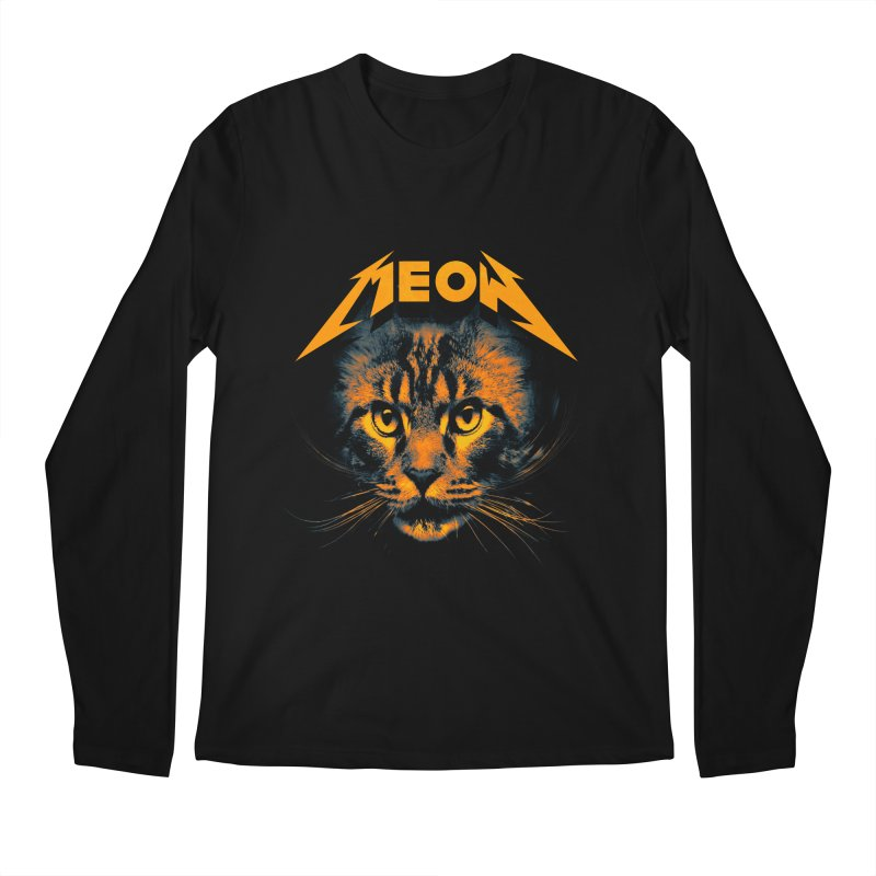Meow Men's Regular Longsleeve T-Shirt by nicebleed