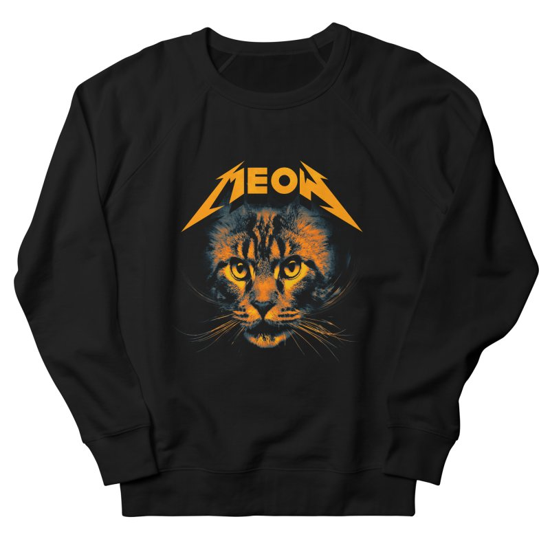 Meow Women's French Terry Sweatshirt by nicebleed