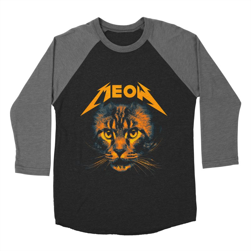 Meow Men's Baseball Triblend Longsleeve T-Shirt by nicebleed