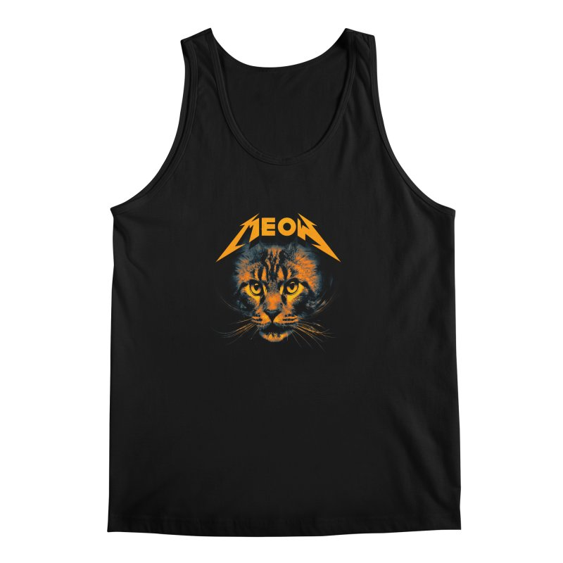 Meow Men's Regular Tank by nicebleed