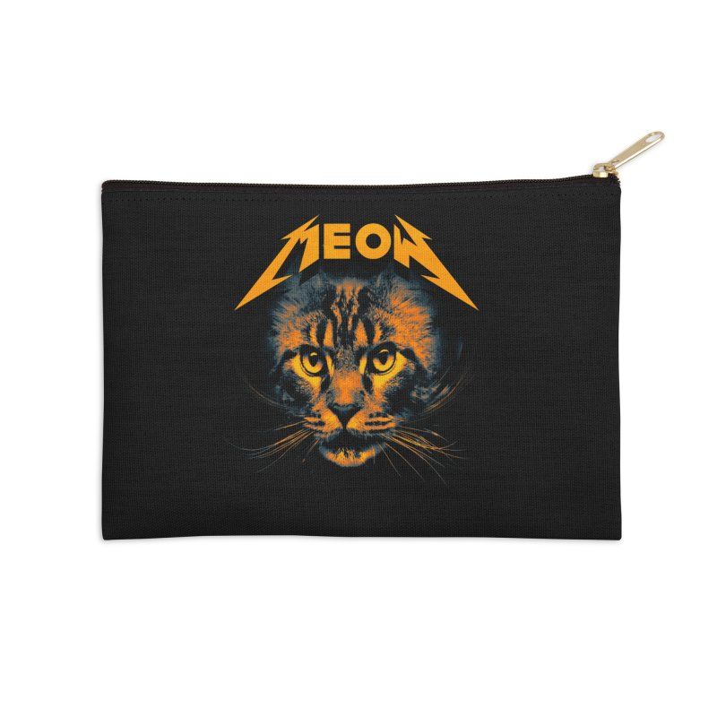 Meow Accessories Zip Pouch by nicebleed