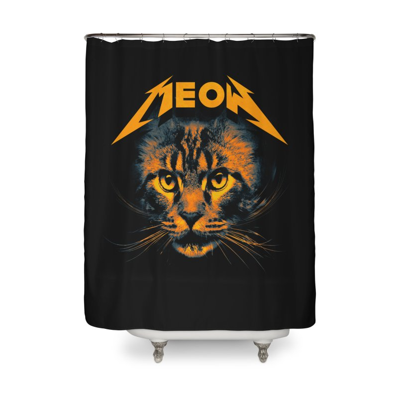 Meow Home Shower Curtain by nicebleed
