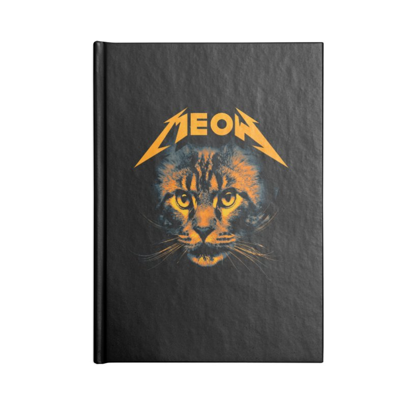 Meow Accessories Notebook by nicebleed