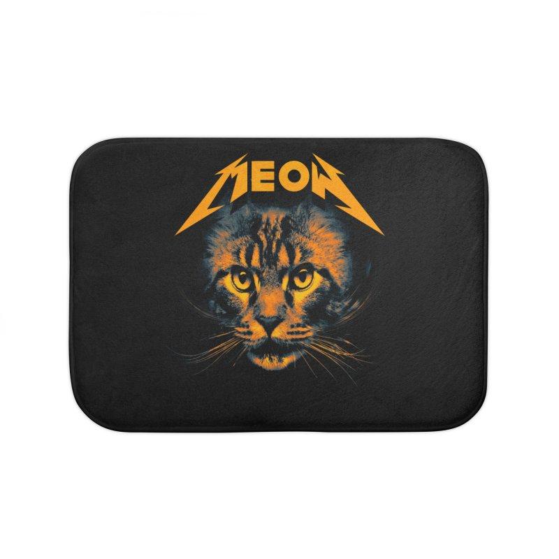 Meow Home Bath Mat by nicebleed