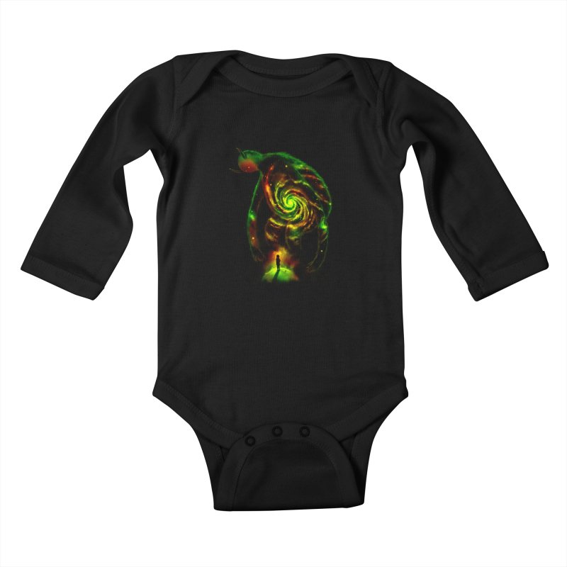 The Revelator Kids Baby Longsleeve Bodysuit by nicebleed