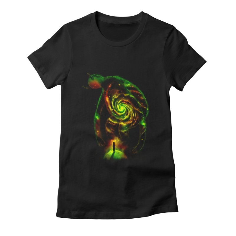The Revelator Women's Fitted T-Shirt by nicebleed