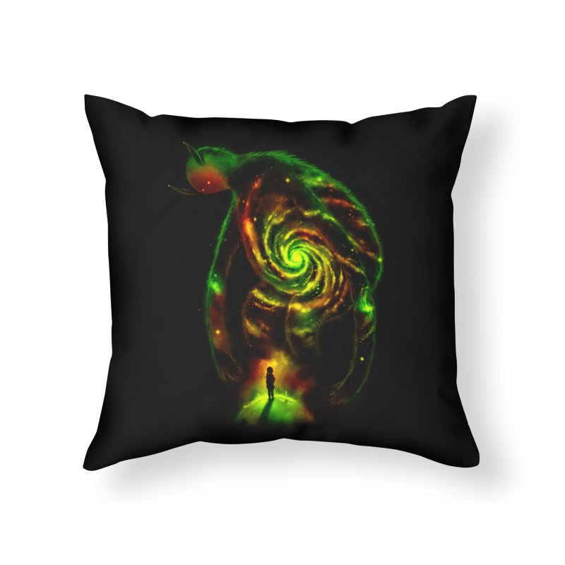 The Revelator Home Throw Pillow by nicebleed
