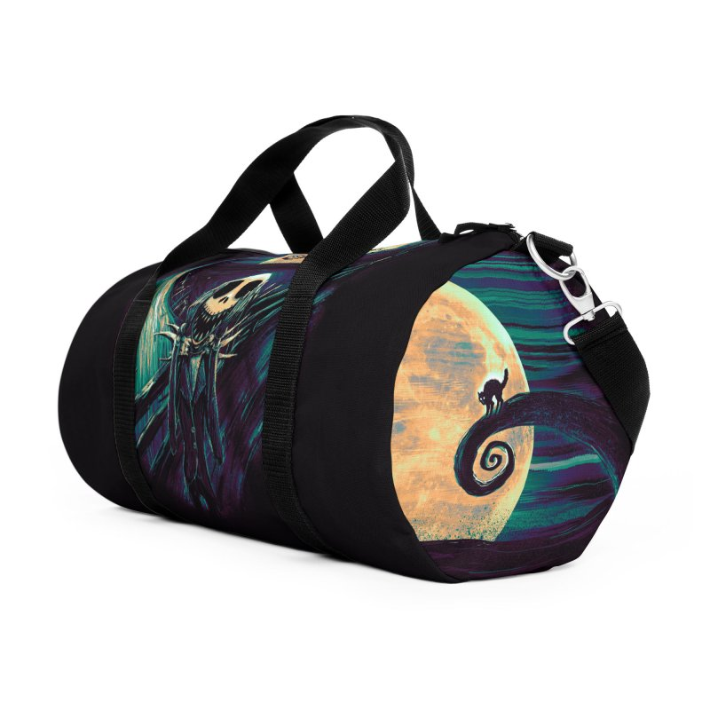The Scream Before Christmas Accessories Duffel Bag Bag by nicebleed