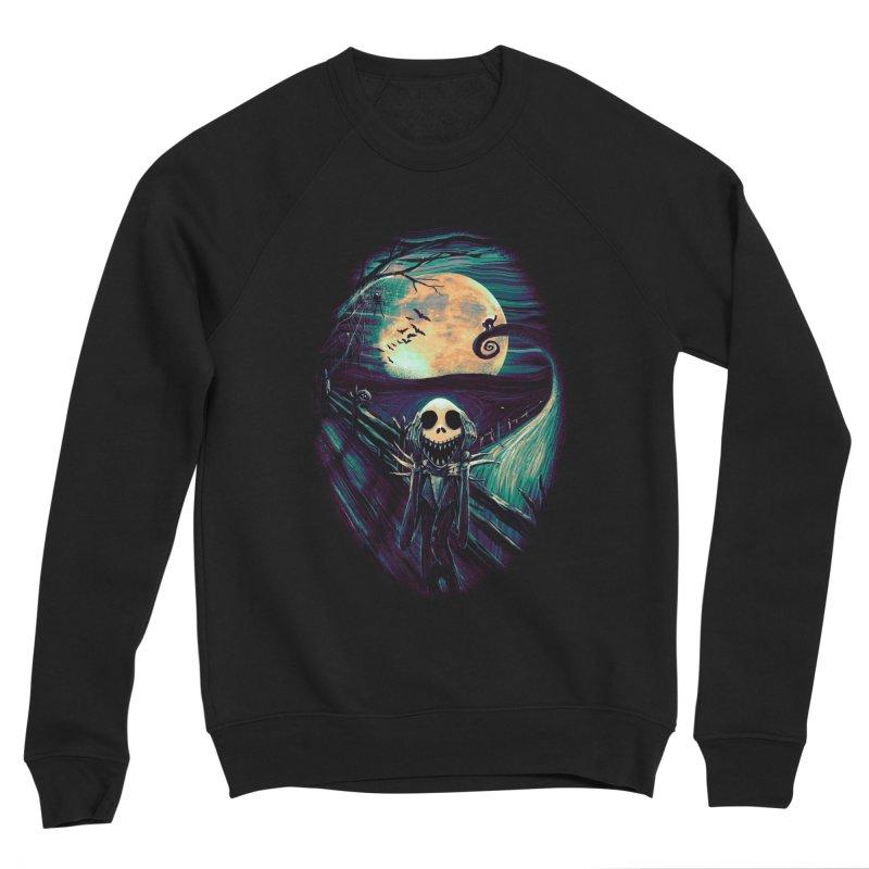 The Scream Before Christmas Men's Sponge Fleece Sweatshirt by nicebleed