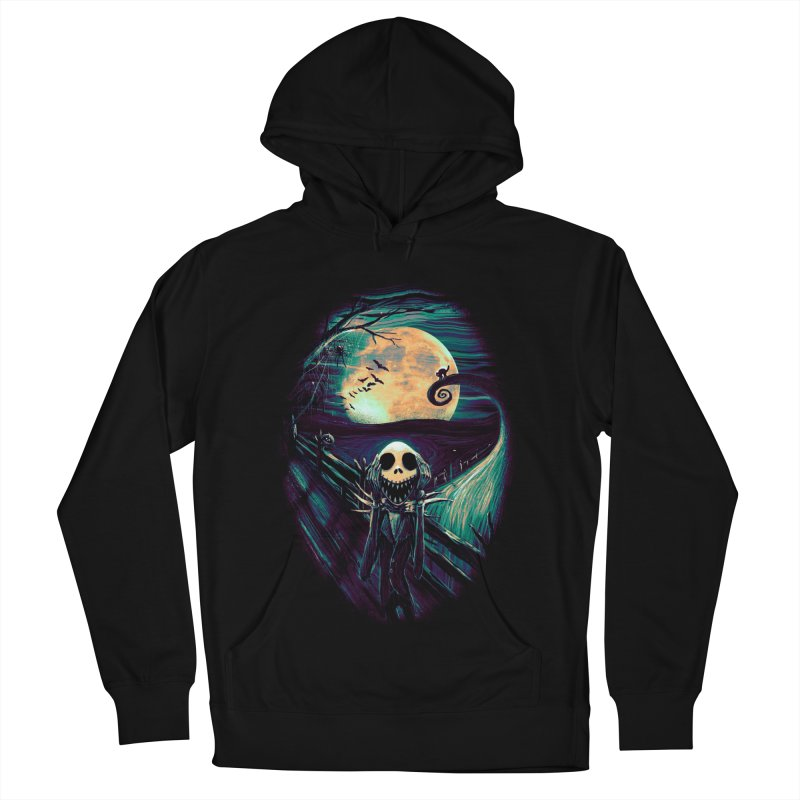 The Scream Before Christmas Men's French Terry Pullover Hoody by nicebleed